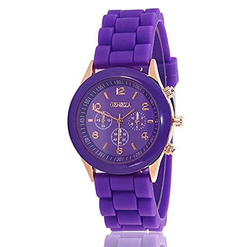 CdyBox Women Men Ladies Fashion Luxury Silicone Quartz Watch Girl Boy Kids Unisex Jelly Wrist Watch