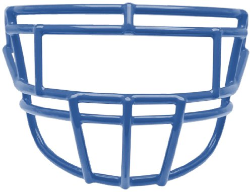 - Schutt Sports Youth EGO P-II-YF Super Pro Carbon Steel Football Faceguard, Royal Blue