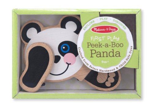 Melissa Doug Peek Panda Wooden