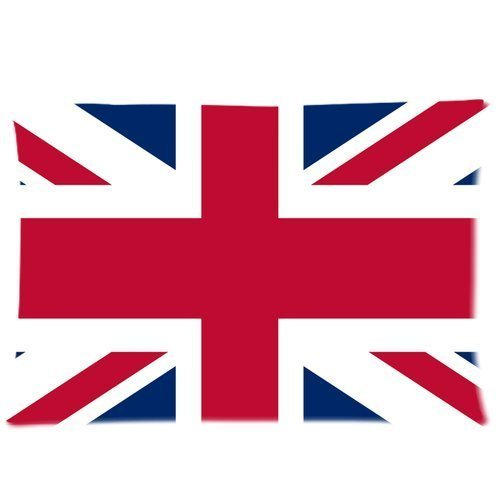 UK National Flag Union Jack Custom Zippered Bed Pillow Cases 20x30 (Twin sides) Fabric Cotton and - Uk Custom