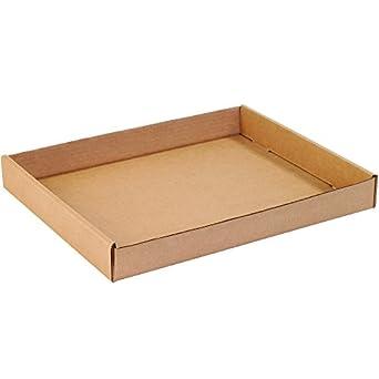 """Cajas rápido bf15122ct bandejas de cartón corrugado, 15 """"X 12"""" X 1"""