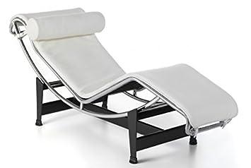 Group Design, Sillón chaise longue LC Piel H12-P- blanco ...