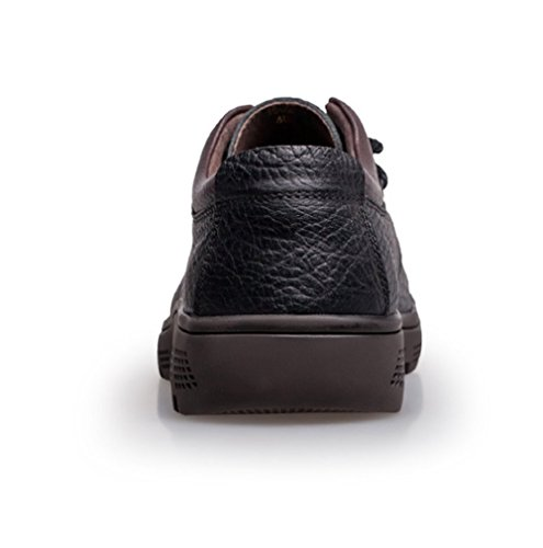 Schwarz Große Größe Herren Spitze Bottom Weiche Casual Schuhe Black Braun Verschleißfeste Business LINYI Britische SqPz11