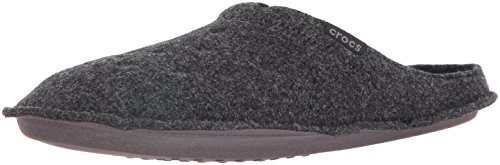 Crocs Classic Slipper Mule, Black, 7 US Men / 9 US Women