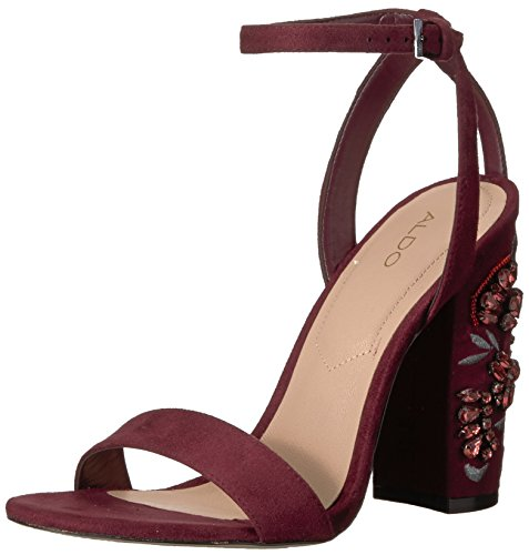 Aldo Women's Luciaa Dress Sandal, Bordo, 8 B US by Aldo