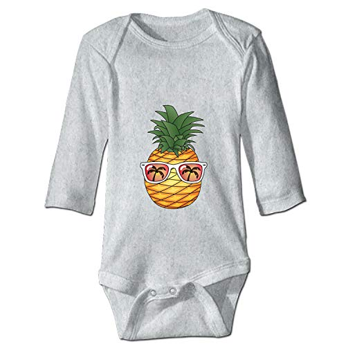 Animated Pineapple New Parents Top Baby Bodysuit