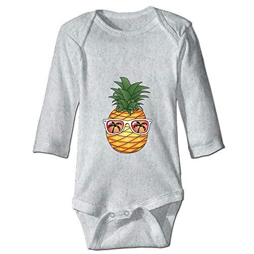 Animated Pineapple New Parents Top Baby Bodysuit -
