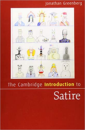 Amazon Com The Cambridge Introduction To Satire Cambridge