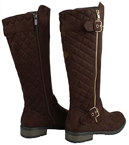 Link Lady Mango Boot 23 JJF Shoes Forever Brown 21 XtcEC