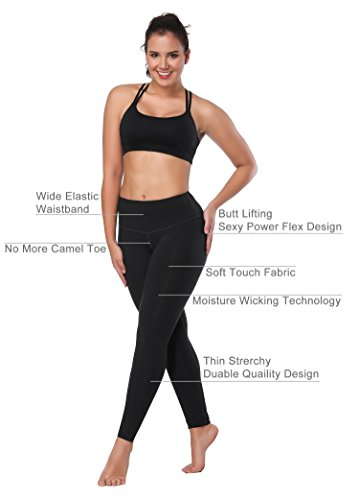 6b76327c7d852 HKJIEVSHOP Women High Waist Inner Pocket Yoga Pants Active Workout Running  Sports Leggings - Buy Online in UAE. | Apparel Products in the UAE - See  Prices, ...