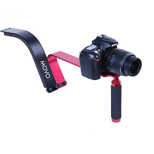 Movo Photo SG100 Video Shoulder Support Rig for DSLR Cameras and Camcorders by Movo