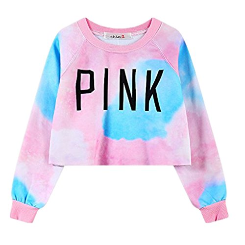 Amoin Womens Colorful Letters Sweatshirt product image