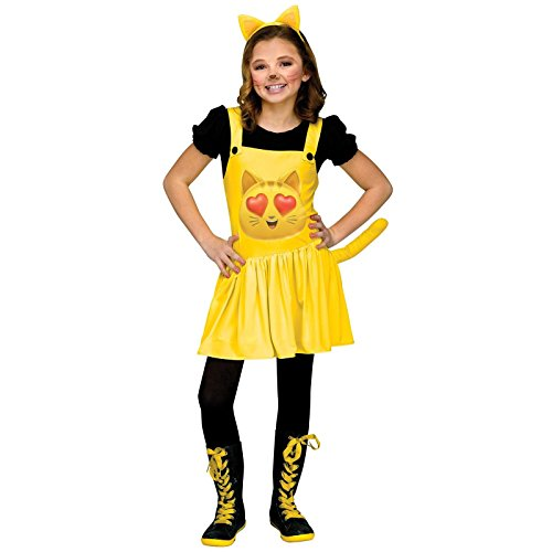 Cat with Heart Eyes Child Costume Medium