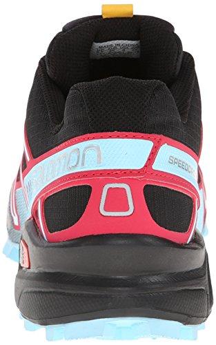 Salomon Speedcross 3 CS - Zapatillas de Correr EN Montaña Para Mujer Schwarz (Black/Lotus Pink/Air)