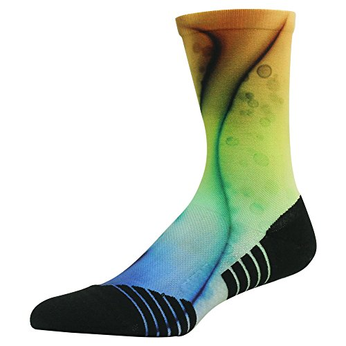 Wedding Theme Socks, HUSO Fancy Design Stylish Comfortable Mid Calf Crew Light Hiker Socks for Men and Women 6 Pairs (Multicolor, L/XL) by HUSO (Image #5)