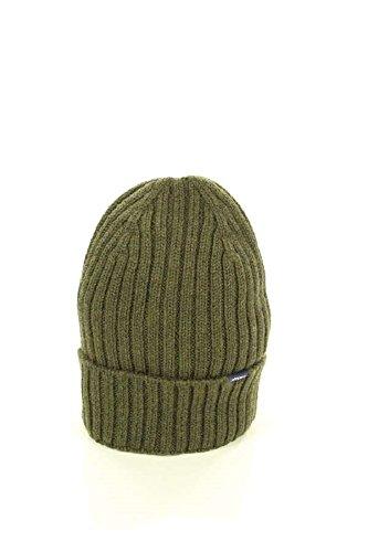 Woolrich Coste Maglia Hat 100 Woacc1373 Beenie Verdone Berretto A ac93 Wool lana Green In 6362 xxP1FR