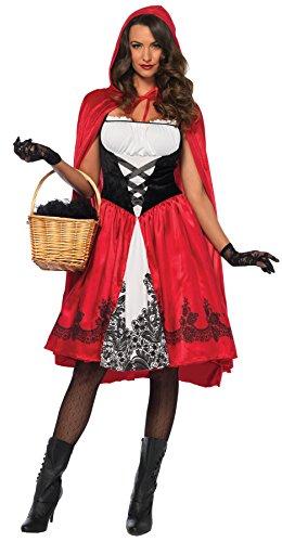 Leg Avenue Women's Classic Red Riding Hood Costume,