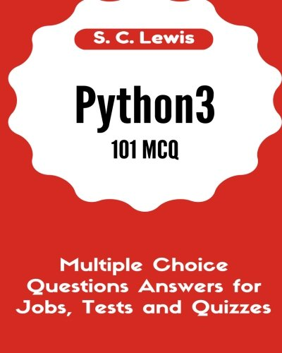 Python3 101 MCQ - Multiple Choice Questions Answers for Jobs