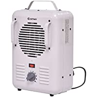 Thegood88 Electric Portable Utility Space Heater Thermostat Room 1500W Air Heating Wall