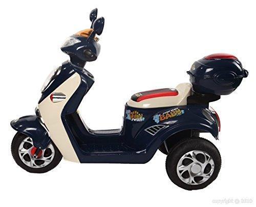 Vespa moto eléctrico 6 V Cristom-® conexión mp3.: Amazon.es: Juguetes y juegos