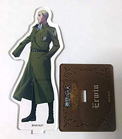 Attack On Titan Rain Acrylic Stand Keychain Erwin Smith Hajime Isayama Anime F//S
