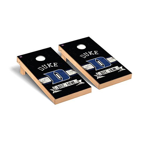 - Duke Blue Devils Regulation Cornhole Game Set Banner Version