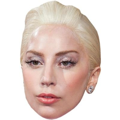 Lady Gaga Celebrity Mask, Card Face and Fancy Dress Mask (Lady Gaga Fancy Dress)