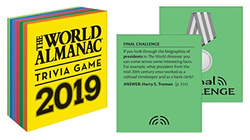The World Almanac 2019 Trivia Game (World Almanac and Book of Facts) ()