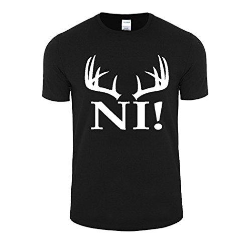 WISHCART Men Cotton T-shirts Monty Python Tops Black white 3X-Large by WishCart (Image #1)