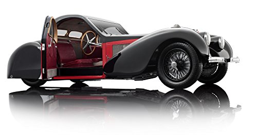 Bauer Exclusive 7828EX-Z751: 12Bugatti Type 57SC Atalante 1937Miniature Models