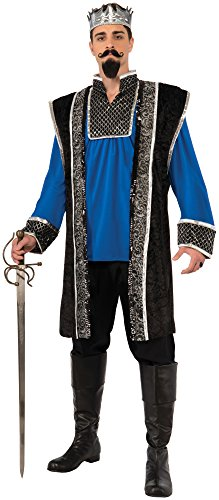Forum Novelties Men's Royal Blue King Costume, Blue/Black, Standard]()
