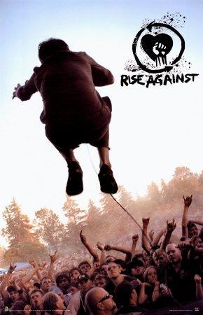 (RhythmHound Rise Against Poster Print, 24x35)