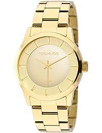 Moda - Dourado - Relógios   Feminino na Amazon.com.br c6eb1056d8
