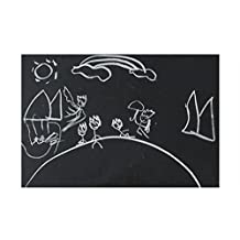 """ITTA Extra Large 23.6""""x78.7"""" Vinyl Chalkboard Wall Sticker Contact Paper Blackboard Memo Removable Wall Sticker Home Decal Wall Mural with Gifts(black)"""