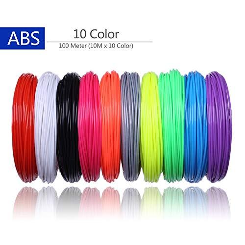 FAN-MING-N-3D, filamentos de Impresora 3D, 200 Metros, 20 ...