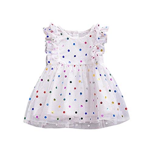 Girls Dresses,Haoricu Hot Sale Baby Girls Ruffles Sleeve