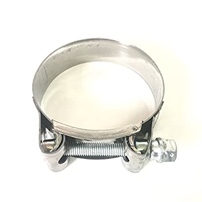"""Mikalor - Supra W2 130mm-140mm Stainless Steel 5"""" T-Bolt Hose Clamp (Qty1) - 119-12700-1000: Automotive"""