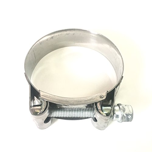 """Mikalor - Supra W2 130mm-140mm Stainless Steel 5"""" T-Bolt Hose Clamp (Qty1) - 119-12700-1000"""