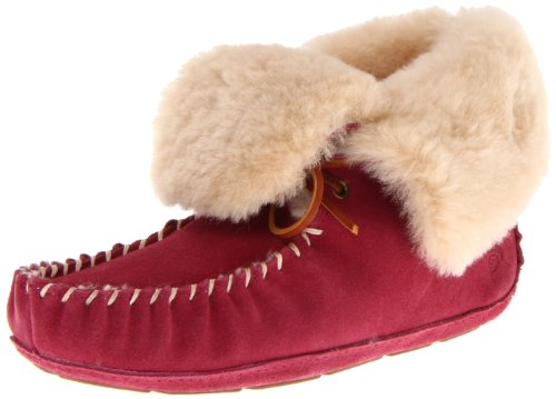 Acorn Women's Sheepskin Moxie Bootie Slipper