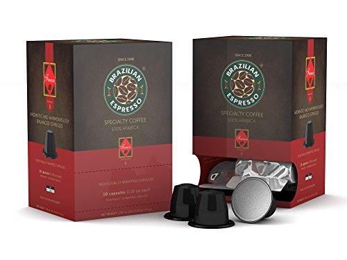 Brazilian Espresso Specialty Coffee - Espresso Capsule - Firenze