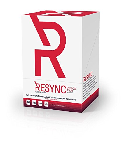 RESYNC – Clinically Formulated Nitric Oxide Booster & Inflammatory Support; Featuring Unrivaled Ingredients: Oxystorm, Red Spinach, Beet Root, Aronia Berry, Inulin, Careflow & More (10 Servings)