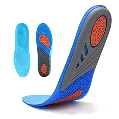 HLYOON GEL Sports Comfort, plantillas recortables para la