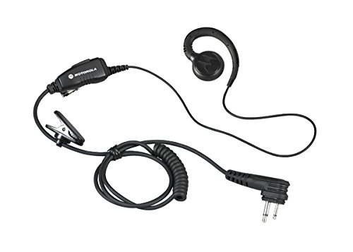 HKLN4604 HKLN4604A Original Motorola Swivel Earpiece with Microphone and PTT - Replaces - The Earpiece