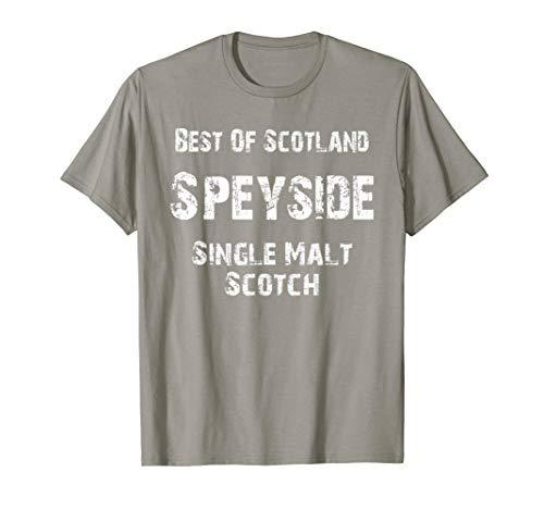 (Best Of Scotland Speyside Single Malt Scotch T-Shirt)