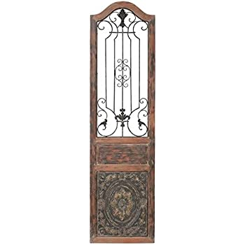 Attractive Deco 79 55832 Wood Metal Wall Decor