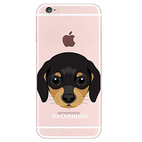 Brave Rosemary Cute Puppy Pug Bunny French Bulldog Animals Soft Phone Case Funda for iPhone 7 7Plus 6 6S 8 8plus X XS Max Samsung,5,for iPhone 6Plus -