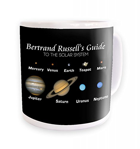 Bertrand Russell's Guide Mug- Black Background