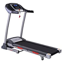 Sunny Health & Fitness Portable Treadmill Auto Incline, LCD, Smart APP Shock Absorber - SF-T7705 by Sunny Distributor Inc.