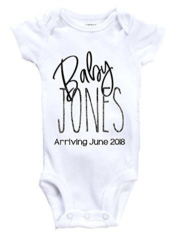 Pregnancy Announcement Onesie - Baby Arriving - Baby Announcement - You're going to be an Aunt - Uncle - Grandmother - Grandfather - Nana - Poppop - Auntie - Nonni - Photoshoot - Prop