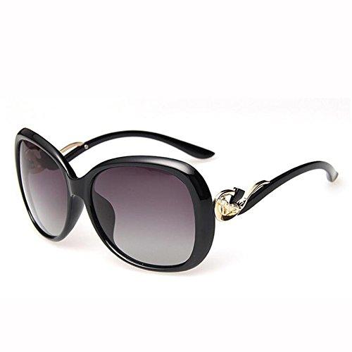 Metal Gafas UV 4 Redonda Anti Hembra Polarizada Leopardo Grande Luz Gafas Caja Sol 2 xin WX De Cara Color wnUEqxCgX6